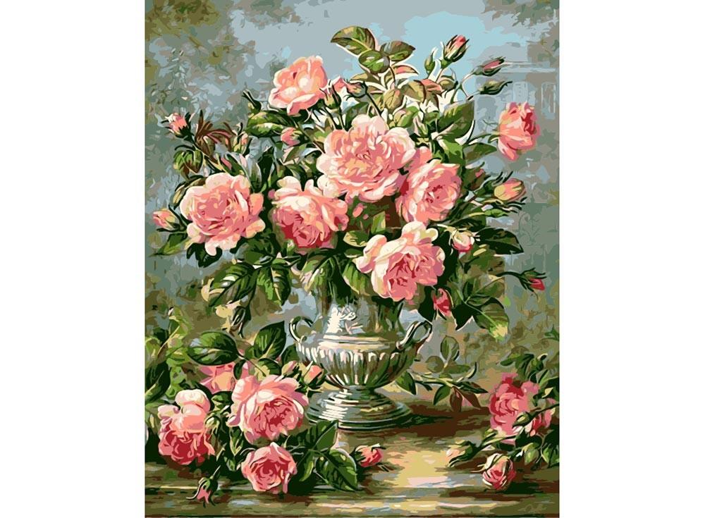 Картины с розами для вышивки 331