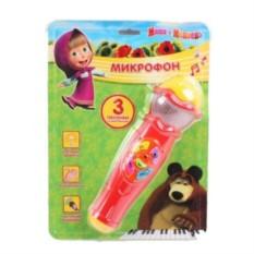 Детская игрушка-микрофон Маша и Медведь