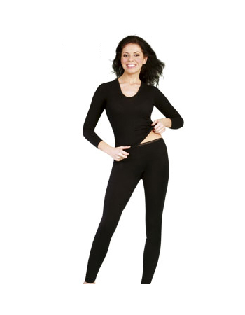 Термобелье шерстяное - женские брюки