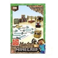 Бумажный конструктор Minecraft  Игровой мир Предметы