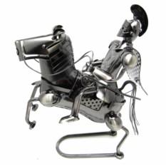 Фигурка из металла Рыцарь на коне