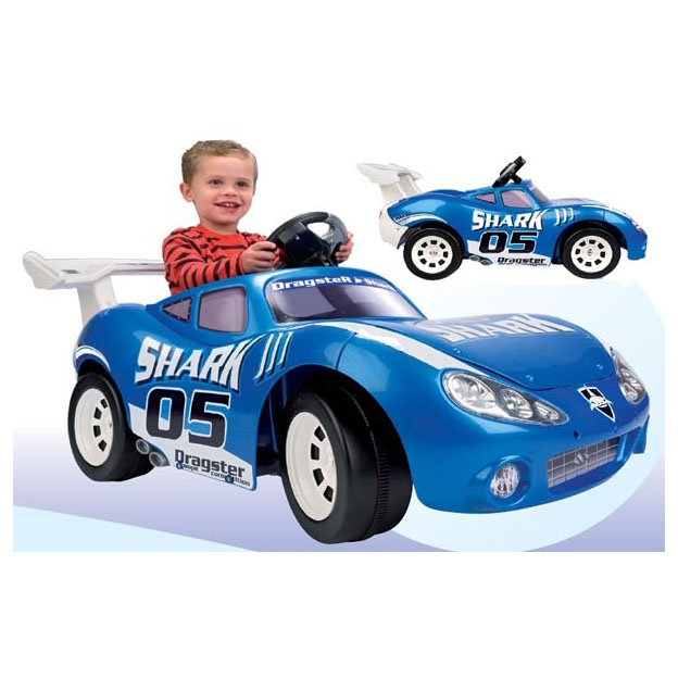 Гоночный автомобиль «Акула»