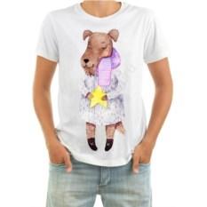 Мужская футболка Собачка в шубе