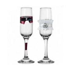 Набор свадебных бокалов №34
