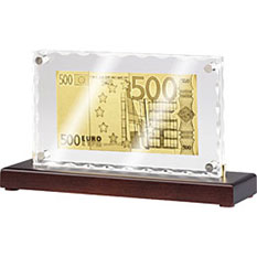 Банкнота «500 EURO» – стела
