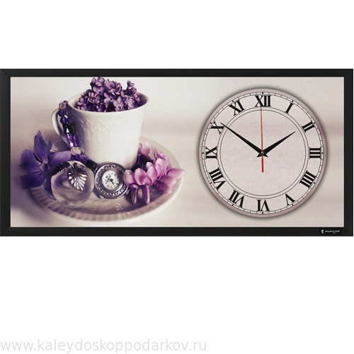 Настенные часы из песка Романтика