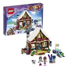 Конструктор Lego Friends Горнолыжный курорт. Шале