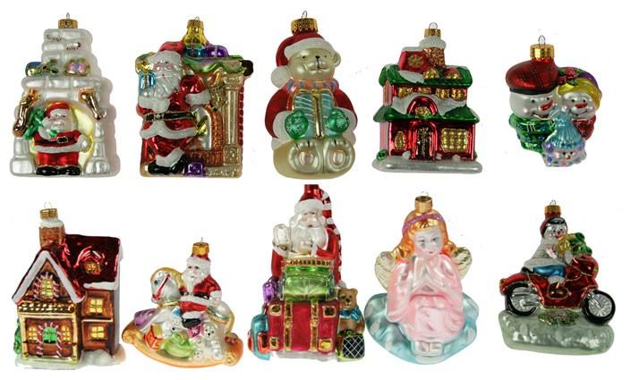 Набор ёлочных игрушек Новогодние приключения