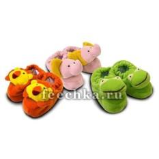 Детские тапочки-зверушки от LULLABABY