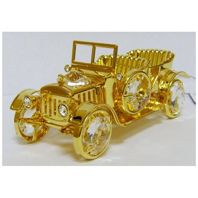 Сувенир «Машина» с кристаллами Swarovski