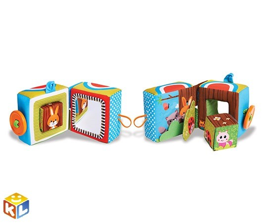 Tiny love развивающая книжка Tiny love Куб