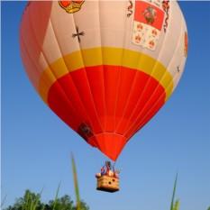 Полет на воздушном шаре для троих