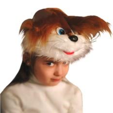 Карнавальная шапочка Белка