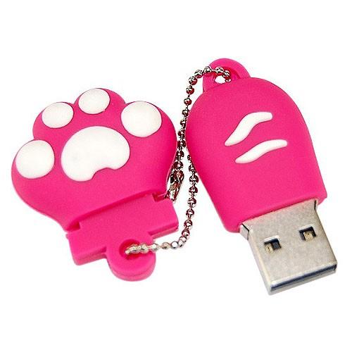 USB флешка на 8GB в виде роовой лапки