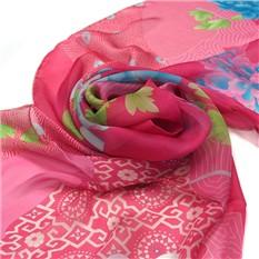 Стильный шарф в розовых тонах Leonard