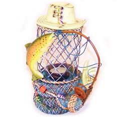 Подсвечник Рыбалка большой