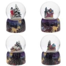 Декоративная фигурка в стеклянном шаре Домик