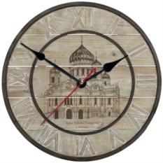 Античные настенные часы Москва. Храм Христа Спасителя