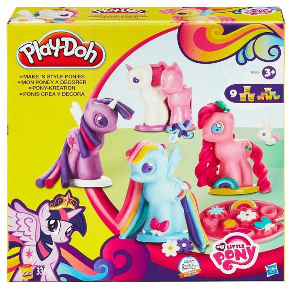 Игровой набор для творчества Play-Doh Создай любимую Пони