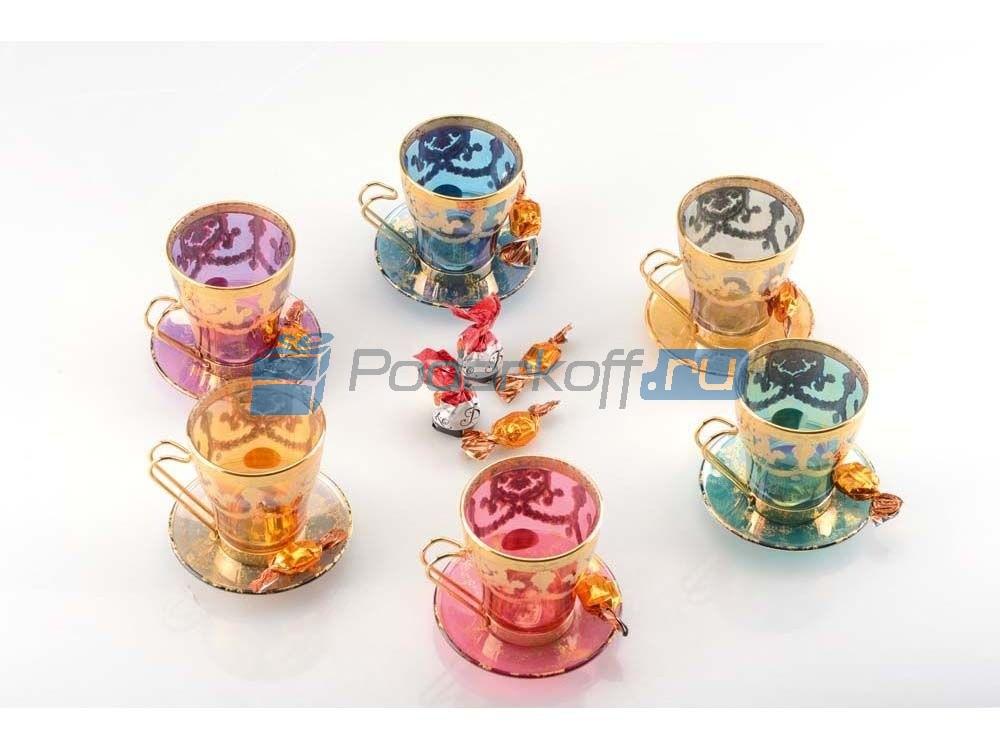 Набор для чая на 6 персон «Королевский прием»