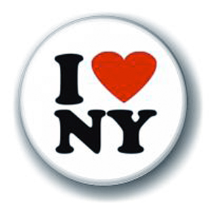 Значок I love New York