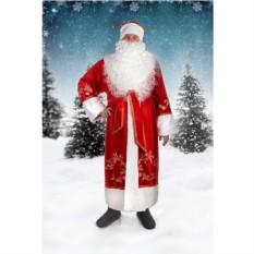 Новогодний костюм с вышивкой Дед Мороз