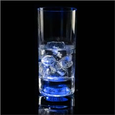 Синий светящийся бокал Longdrink GlasShine