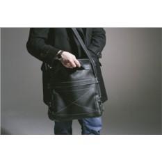 Универсальная кожаная сумка Brialdi Derby (цвет — черный)