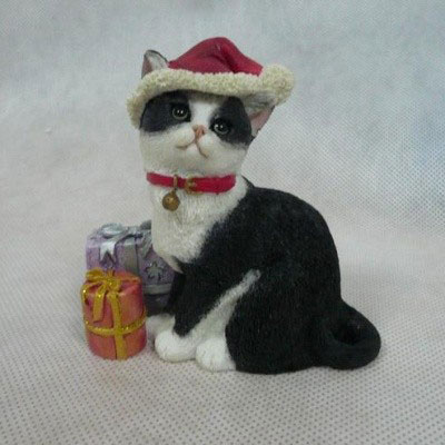 Фигурка «Кошки в шляпах, Рождество» Enesco