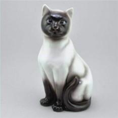 Фарфоровая статуэтка Сиамская кошка