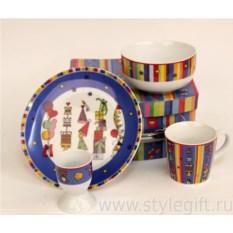 Детский набор посуды Подарки