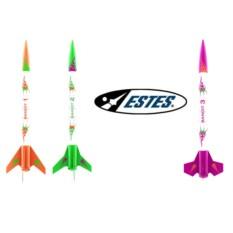 Многоразовая модель ракеты Estes 3 bandits rocket e2x