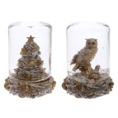 Декоративная фигурка в стеклянном шаре Зимняя
