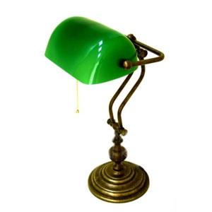 Лампа настольная «Банкир»