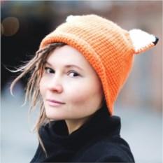 Шляпа с ушками Лиса