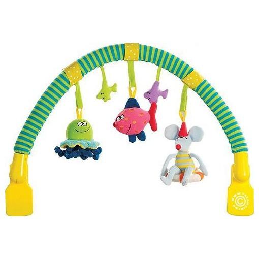 Музыкальная дуга с подвесками Taf Toys