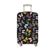 Чехол для чемодана LOQI Butterfly М