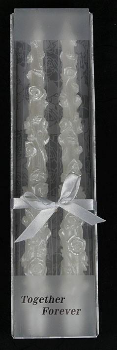 Набор свечей Розы из 2 шт