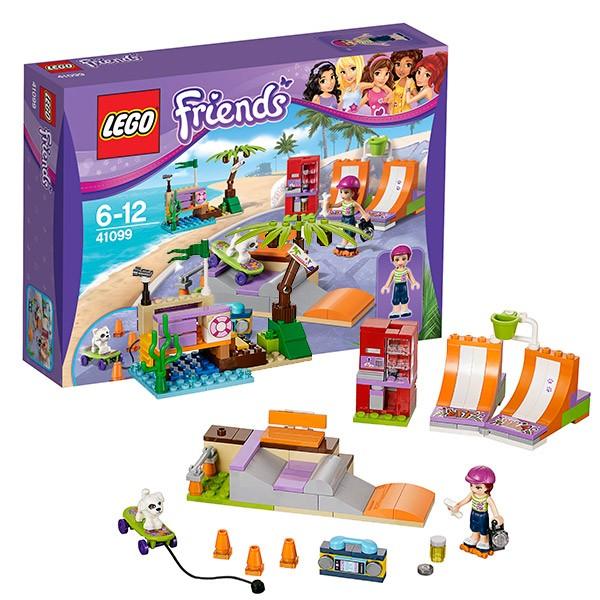Конструктор Lego Friends Скейт-парк Хартлейк сити