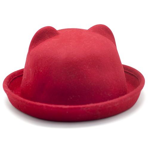 Шляпа Felt Cat (красная)