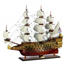 Корабль Хозяин морей, Англия