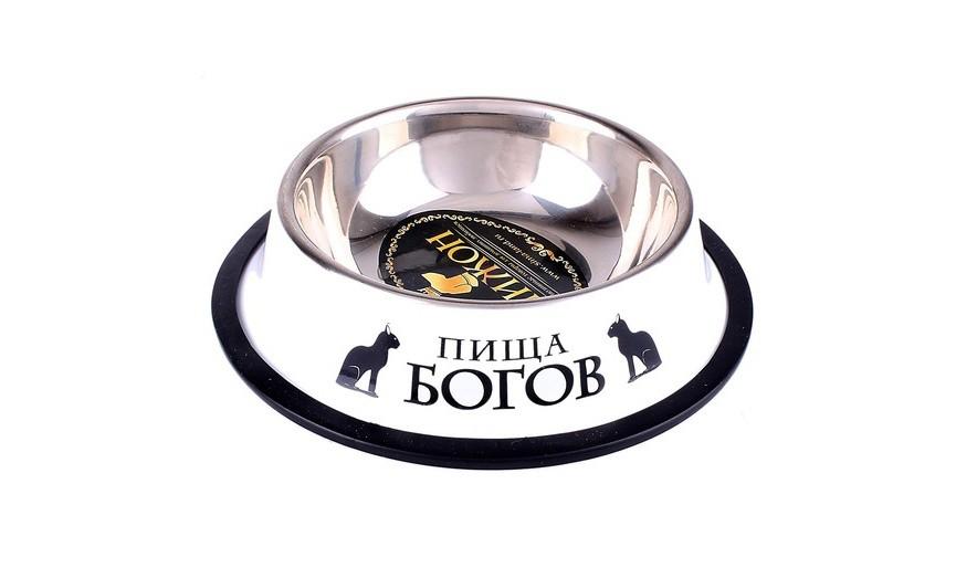 Миска для кошек Пища богов