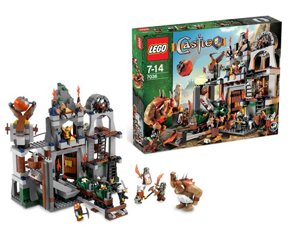 Набор Lego Castle Рудник гномов