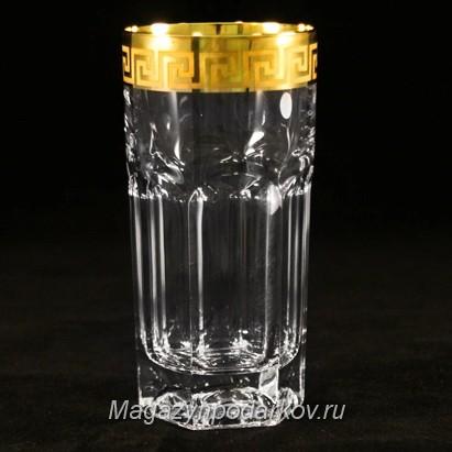 Набор 6 хрустальных стаканов для воды 150 мл Same Версаче