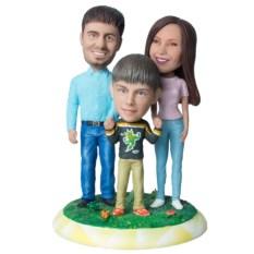 Статуэтка семьи по фото Наша дружная семья