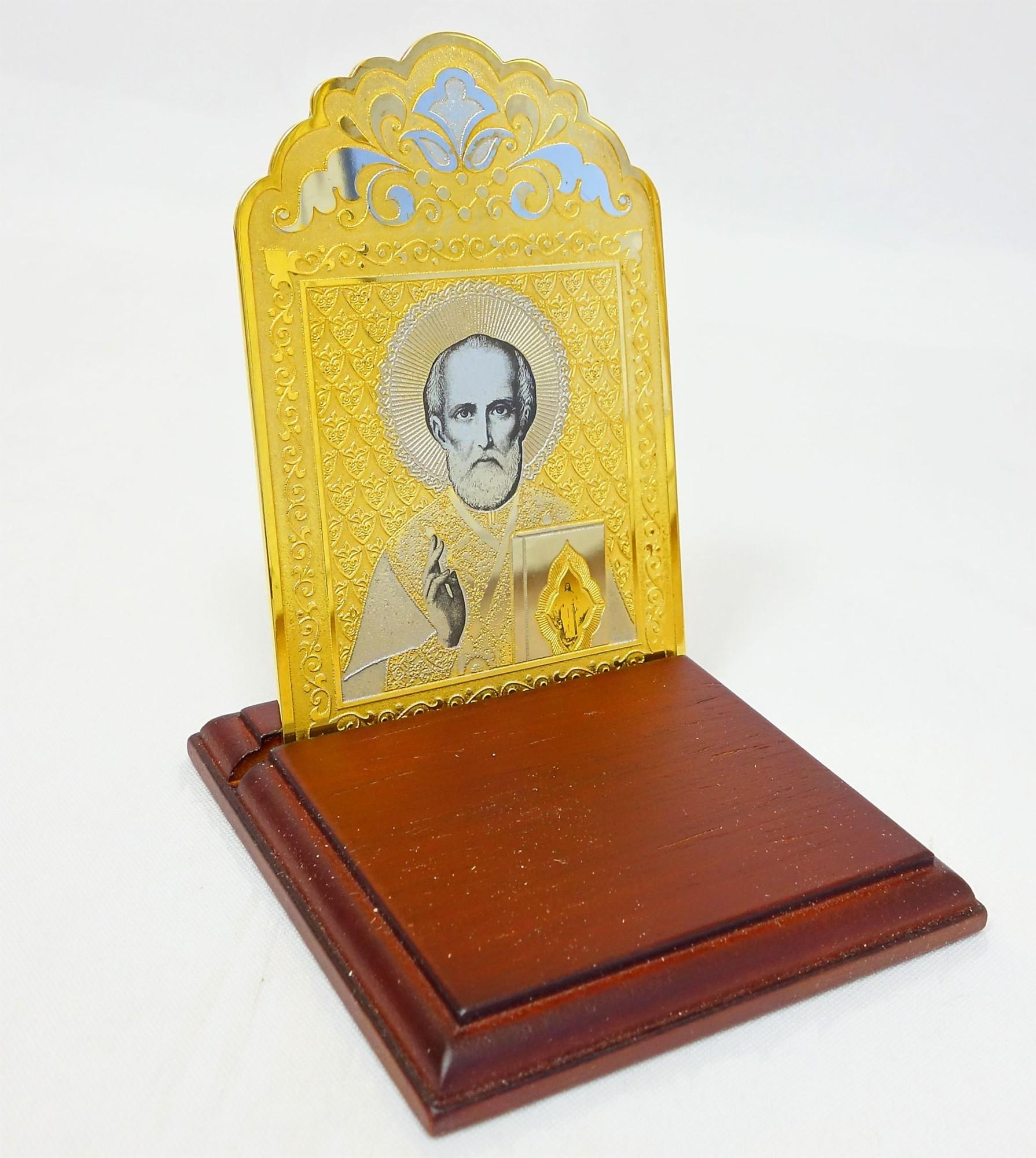 Настольная Икона Николая Чудотворца