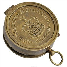 Настольный сувенир Солнечные часы и компас