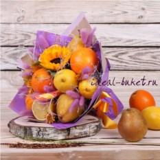 Букет фруктов Муза (25х30 см)