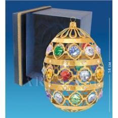 Фигурка с кристаллами Swarovski Яйцо большое в коробке