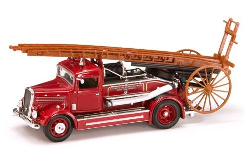 пожарная машина Деннис Лайт 4 1/43 1938 года от Yat Ming